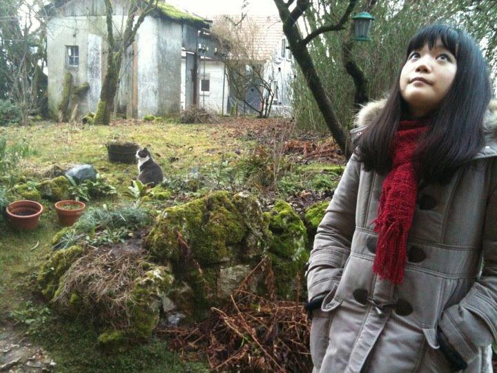 A-chanと来たのは、なんと2012年の1月末でした!Ça fait déjà 4 ans que j'avais amené A-chan ma nièce!
